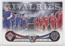 2013 Topps MLS Rivalries #RIV-CR Colorado Rapids vs Real Salt Lake Soccer Card