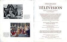 Publicité Livre Connaissance de la Télévision Edition du Tambourinaire