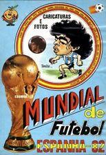 World Cup 1982 Sticker caricatures - Mabilgráfica (Portugal) UNIQUE on EBAY