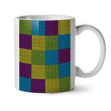 Maze Geometric Fashion NEW White Tea Coffee Mug 11 oz   Wellcoda