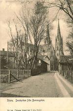 SKARA( Sweden) : Domkyrkan fran Bommagalan