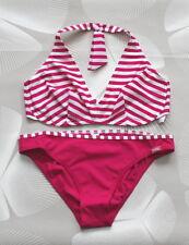 Triumph Bikini Badeanzug Bee Dees 239 TW weiss, himbeere NEU