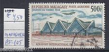 MADAGASCAR, GIORNATA DEL FRANCOBOLLO 1968,  YVERT AE 105, USATO, USED, ,   A172