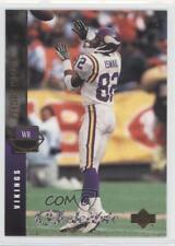 1994 Upper Deck Electric Silver 287 Qadry Ismail Minnesota Vikings Football Card