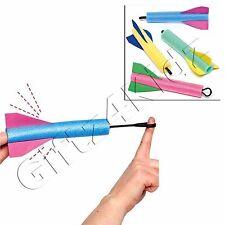 Finger Flyers Flying Foam Rocket Shooter Party Bag Filler Pocket Money Toy