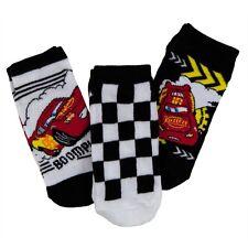 Cars - Checkered Flag McQueen Kids Boys Socks 3-Pack
