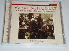 Franz Schubert Death and the Maiden Quartet Set in C & D MINOR CD NEW