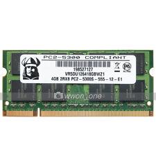 New 4GB 8GB 16GB RAM DDR2 PC2-5300 DDR2 667Mhz 200Pin SODIMM Laptop Memory RAM