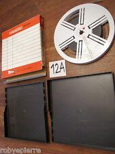 Bobina film super 8 mm SCHNEIDER UNIVERSAL custodia 120 metri mt PALERMO 1972