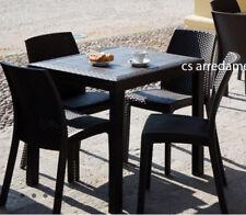 Tavolo Rattan Sintetico Allungabile.Tavoli Da Esterno In Rattan Acquisti Online Su Ebay