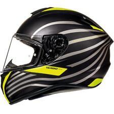 Mt Targo Doppler Noir Mat Fluo Casque Motocycle Moto Max Vision
