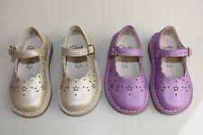 NEW Clarks Kids Homestitch Prewalker Mulberry Champagne Purple Shoes 5.5 W 21