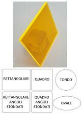 Lastra Plexiglass Fluorescente Arancione Chiaro  3 mm varie forme e misure