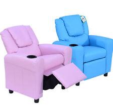 HOMCOM Kids Recliner Armchair Games Chair Children Seat Girls Boys Sofa
