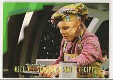 Star Trek Voyager Season 1 Series 2 Neelix's Scratch N Sniff Recipes Card R1