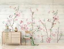 3D Pink Flowers 058 Wall Paper Exclusive MXY Wallpaper Mural Decal Indoor AJ