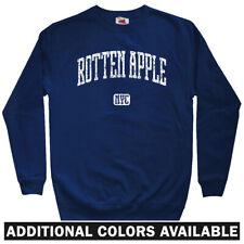 Rotten Apple NYC Men's Sweatshirt - Crewneck S-3X - Gift Funny New York City 212
