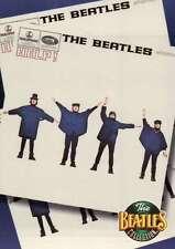 """"""" Help ! """" Album, U.K. Release Date: August 6, 1964 --- Beatles Trading Card"""