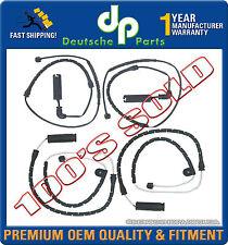 FRONT + REAR BRAKE PAD WEAR SENSOR 34351165579 + 34351165580 SET 4 for BMW X5