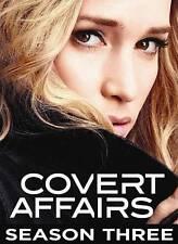 Covert Affairs: Season Three (DVD, 2013, 4-Disc Set, Canadian)
