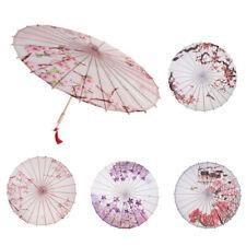 MagiDeal Retro Chinese Parasol Oil Paper Umbrella Crafts Home Party Decor