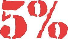 5% Rich Piana Vinyl Sticker LIFT LIFTING GYM GOLD WORLDS FITNESS OLYMPIA