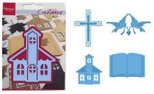 Präge- Stanzschablone kirchliche FESTE + HOCHZEIT MARIANNE DESIGN CREATABLES