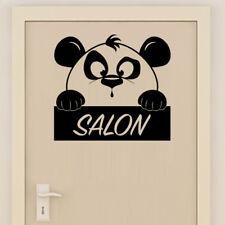 Sticker XXL Mural Salon Décoration Panda Mignon, 35x35 cm à 60x60 cm (PAND008)