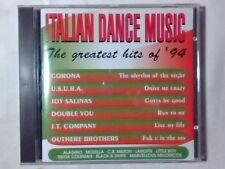 CD ITALIAN DANCE MUSIC CORONA USURA DOUBLE YOU J.T. COMPANY OUTHERE BROTHERS