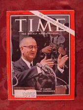TIME magazine May 1 1964 WHIRLWIND PRESIDENT JOHNSON