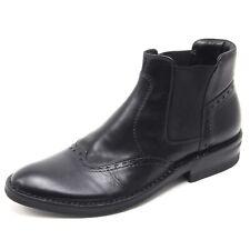 B5976 polacchino uomo TAURUS stivaletto nero boot shoe man
