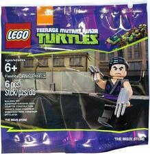 LEGO TMNT - FLASHBACK SHREDDER POLYBAG FIGURE + FREE GIFT - FAST - SEALED