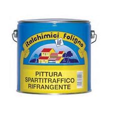 PITTURA VERNICE SEGNALETICA STRADALE SPARTITRAFFICO RIFRANGENTE 2,5 LT