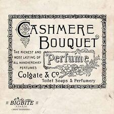 ACQUA Decalcomania Stampa trasferimento ad arredi/Legno/– Vintage PROFUMO Cashmere #032