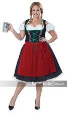 California Costumes Oktoberfest Fraulein Adult Womens Halloween Plus Size 01751