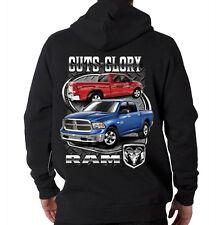 Guts Glory Ram Trucks Dodge Chrysler American Cars Hooded Sweatshirt Hoodie