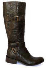 Bottes  Cavaliers Femmes Chaussures Cuir Marron  Neuves Pas Chreres