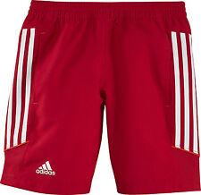 adidas T12 Woven Short Jugend rot X13584 - kurze Hose - Kids Hose