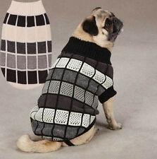 East Side Col Chenille Block Dog Turtleneck Sweater Pet