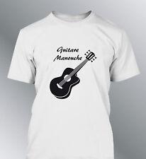 Tee shirt Guitare Manouche Niglo M L XL XXL homme gens voyage Gipsy tsigane