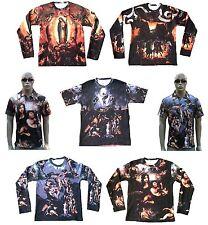 WoW Jesus Maria Engel Kunst Art Designer Polo Long T-Shirt S M L XL 2XL 3XL 4XL