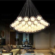 Modern Glass Ball Bubble LED Pendant Lamp G4 Bulb Chandelier Ceiling Lights