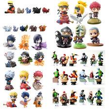 Naruto Shippuden Cake Toppers Party Toys Gift Figures Set : Gaara Sasuke Kakashi