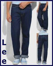 Lee Jeans uomo chicago regular w30 w31 w32 w33 denim 787 blu a vita alta dritto