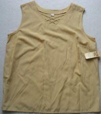 895 40//42-56//58 gelb 2 in 1 Effekt Sheego Shirt Gr NEU