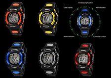 Men's/Boys Multi-Function SYNOKE® Alarm Stopwatch LCD Chronograph Sports Watch