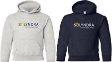 SOLYNDRA Defunct Hooded Sweatshirt FUNNY BANKRUPT Solar Company COOL HOODY