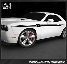 Dodge Challenger 2008-2017 Accent Side Stripes Decals (Choose Color)