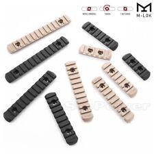 5PCS M-LOK Polymer Picatinny Weaver Rail Section Set 5,7,9,11,13 Slot