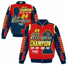 Jeff Gordon 2016 JH Design #24 4X Champion Tribute Uniform Twill Jacket FREE
